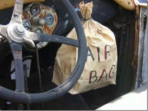 Air bag fail