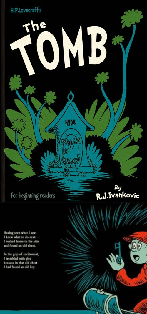 Lovecraft/Dr. Seuss Picture Book of the Day