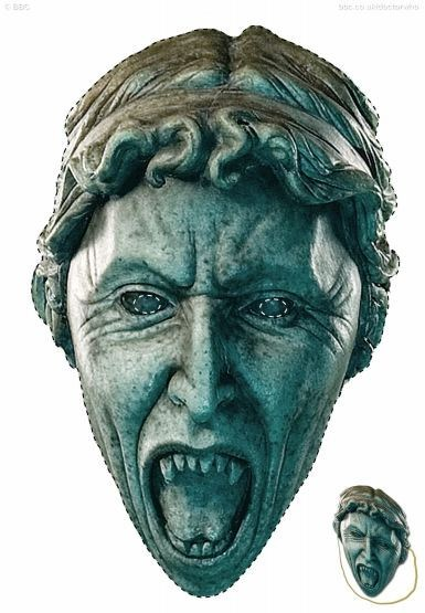 Print-Out Weeping Angel Mask of the Day