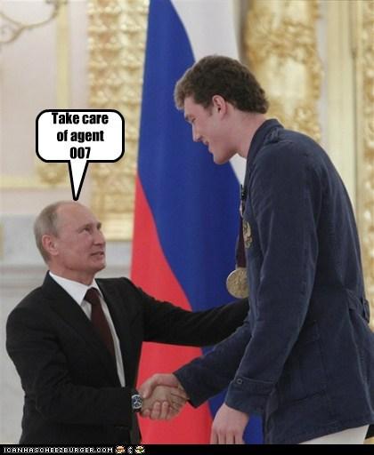 Vladimir Putin,james bond,007,evil,bond villain