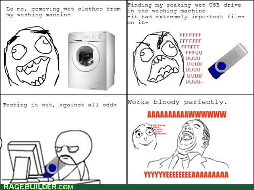 Rage Comics: Washing Machine Rage?
