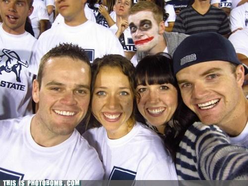 college football,joker,face paint
