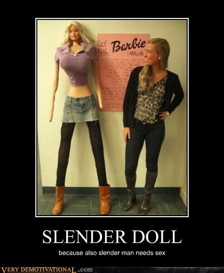 Barbie,sexy times,slenderman