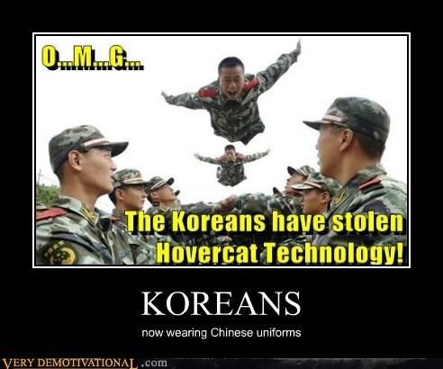 koreans,chinese,omg,look alike,racist