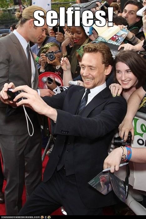 Such a Charmer, That Hiddleston!