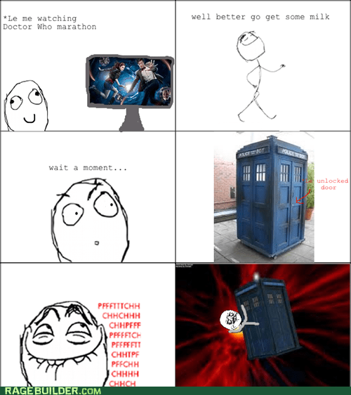 a Doctor Who fans reality