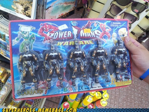 Power Mans? Yes Please!