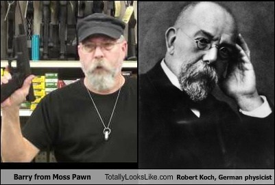 Barry from Moss Pawn Totally Looks Like Robert Koch, German Physicist