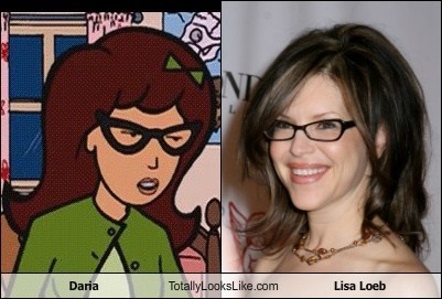 Daria Totally Looks Like Lisa Loeb