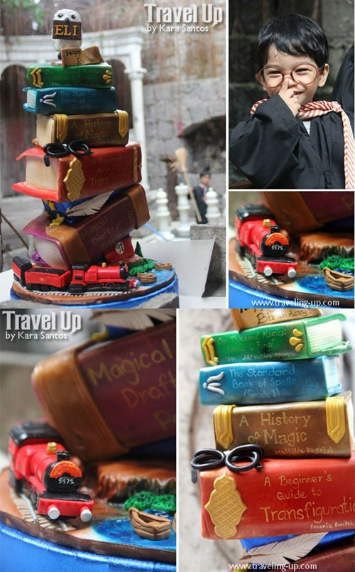 The Harry Potter Cake To End All Harry Potter Cakes of the Day