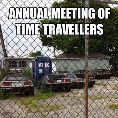 back to the future,doctor who,looper,time travel,worst pun