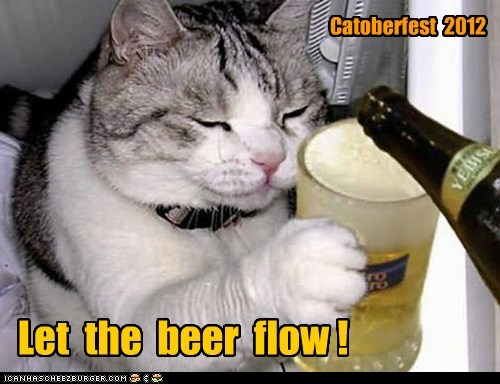 Let  the  beer  flow !