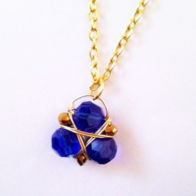 Zora's Sapphire Necklace of the Day