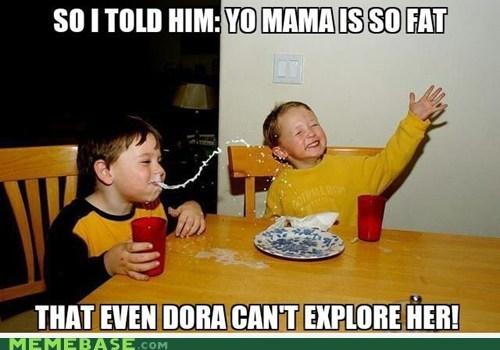 Milk Boy Loves Fat Mama Jokes!