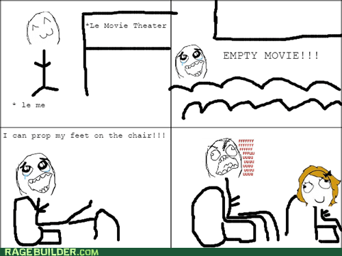Movie Theater Annoyance