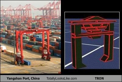 Yangshan Port, China Totally Looks Like TRON