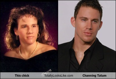 This Chick Totally Looks Like Channing Tatum