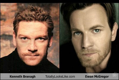 Kenneth Branagh Totally Looks Like Ewan McGregor