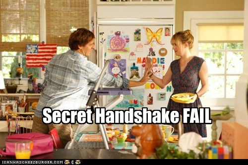 Secret Handshake FAIL