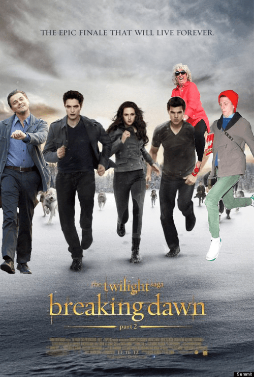 First Look: Breaking Dawn Part II Poster