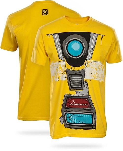 borderlands,claptrap,robot,tshirt
