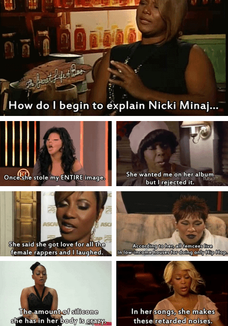 Biggest Female Names in Hip Hop Share Their Thoughts on Nicki Minaj