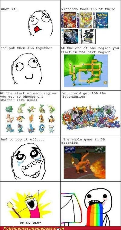 please,rage comic,the game of my dreams