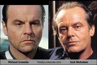 Michael Ironside Totally Looks Like Jack Nicholson