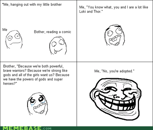 Rage Comics: And That's Why I'm Grounded for Three Months