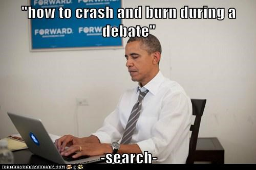 """how to crash and burn during a debate""  -search-"