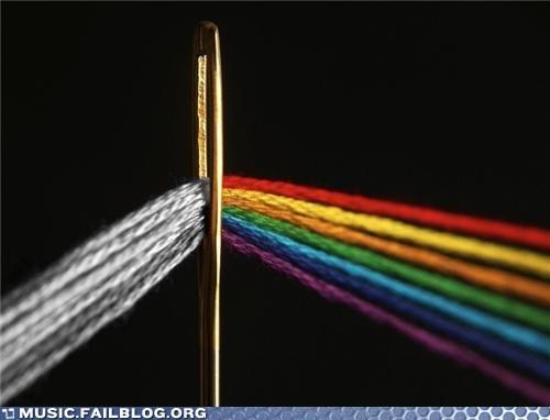 pink floyd,Dark Side of the Moon,sewing needle