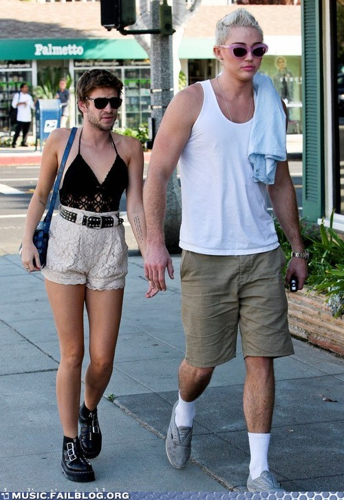 Miley and Liam are Such a Cute Couple!