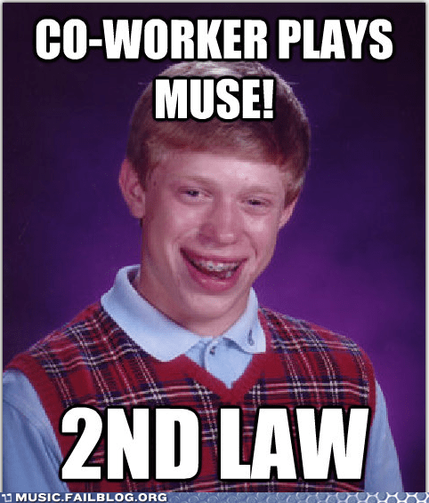 Co-Worker Played Muse at Work