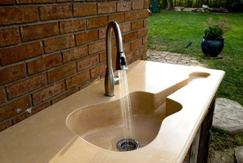My Sink is a Guitar... Is YOUR Sink a Guitar?