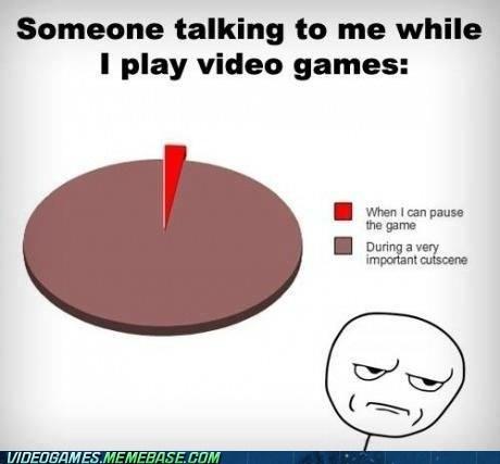 Chart,video games,cutscene,shut up