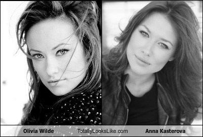 Olivia Wilde Totally Looks Like Anna Kasterova