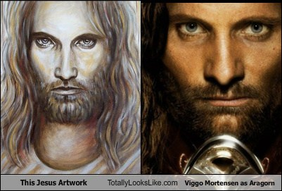 This Jesus Artwork Totally Looks Like Viggo Mortensen as Aragorn