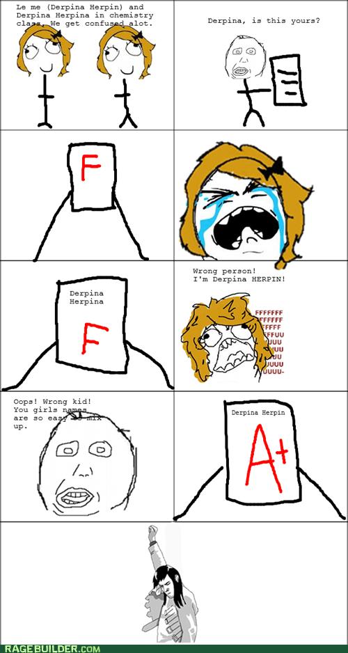 class,failed,school,herp derp,test,truancy story