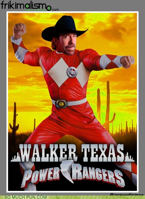 chuck norris,power rangers,walker texas ranger,juxtaposition,shoop,portmanteau