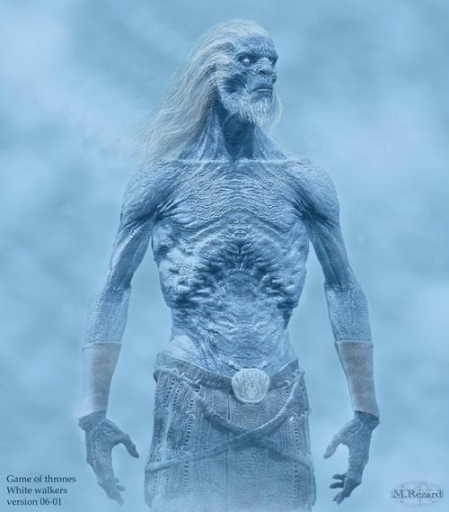 White Walker Concept Art of the Day