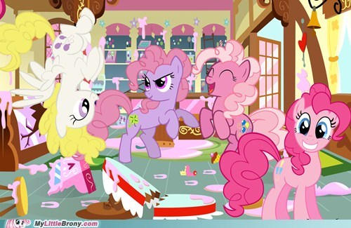 Pinkie Pie Generations