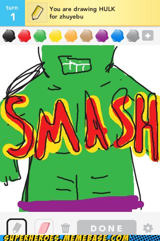 hulk,smash,draw,drawing with friends