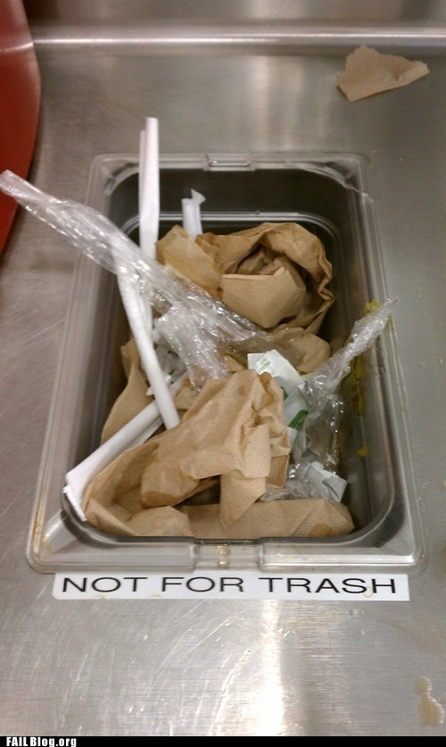 trash,garbage,directions,restaurant