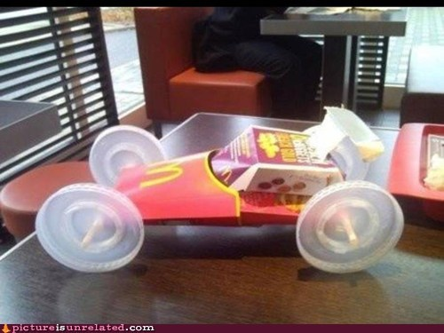 The fastest thing to ever come out of McDonald's