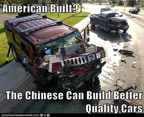 American Built?  The Chinese Can Build Better Quality Cars