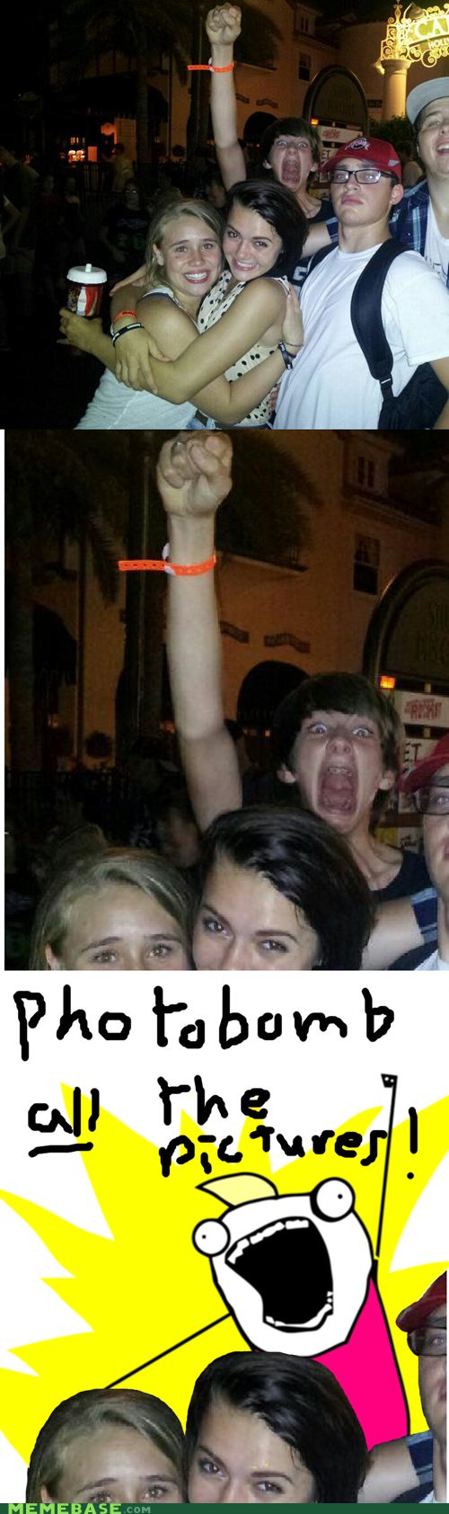 all the things,photobomb,scary,meme