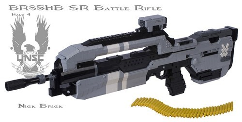 LEGO Halo 4 Battle Rifle