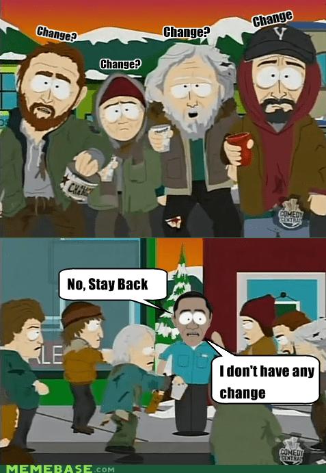 barack obama,South Park,politics,change