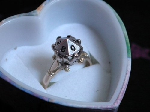 D10 Engagement Ring of the Day