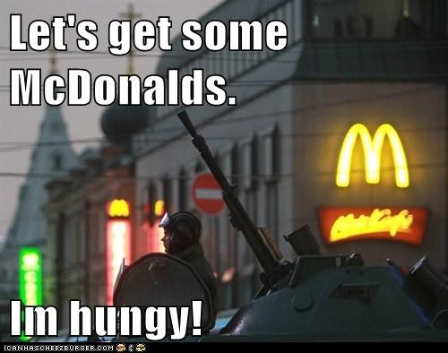 Let's get some McDonalds.  Im hungy!